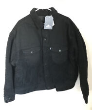 Levis Made And Crafted Over Sized Sherpa Reversible Trucker Jacket