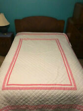 Pottery Barn Kids Harper Twin Quilt Coverlet Pink 2 Shams Discontinued HTF