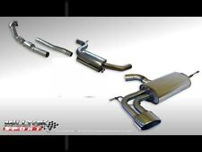 Milltek Exhaust Leon Cupra 2.0T Turbo Back Resonated & Downpipe RACE Cat OVAL