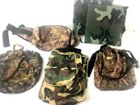 Hunting Gear Small Game Belts Fanny Pack Cushions Set of 6 Used