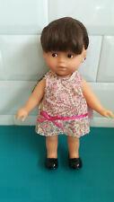19.8.11.5 Petite Poupée chatain mini Corolle Corolline robe 20cm