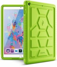 Case For Apple iPad 9.7 2018 Poetic【Turtle】Sound-Amplification Case Green