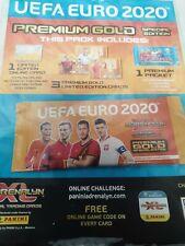 Panini Adrenalyn XL UEFA Euro 2020 Trading Cards Premium Gold Packet