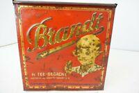 Brandt Blechdose / Verkaufsvitrine Vintage Antik Sammler Selten Retro Vintage