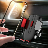 Gravity Car Air Vent Mount Cradle Holder Stand Mobile Cell Phone GPS Accessories