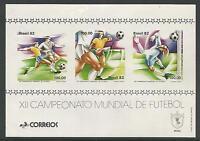 Brésil. 1982. Coupe Du Monde De Football Miniature Feuille SG: MS1946.