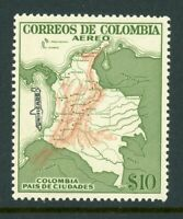 Colombia Scott #C346 MNH Airpost Agreement with Avianca 10p MAP CV$11+