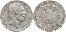 Kgr. Niederlande, Willem III., Gulden 1863