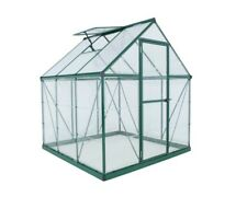 Palram Hg5506G Hybrid Greenhouse - 6 x 6 ft. - Green
