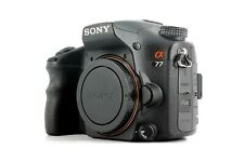 Sony Alpha A77 SLT-A77V 24.3MP Digital SLT Camera (Body)