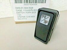 JLG 8223062 Fork Side Switch Carling Technologies V8D2 20A 12V 5930-01-504-3526