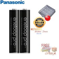 New Panasonic Eneloop Pro 2pcs Top 950mAh AAA batterys Phone Camera Pre Charged