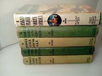 Yankee Flier Book Lot of 5 By Al Avery 1941-1944 Grosset & Dunlap FREE SHIP B