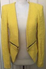 Zara Women Yellow Jacket Size XS