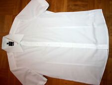 Olymp Level Five Hemd Body Fit Kent Kragen Kurzarm Gr. 38 Weiß Top
