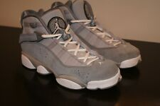 Jordan Boy's Shoes Size 6 Youth 6Y Light Gray GUC Basketball