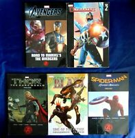 Comic Book Lot Of 5 Marvel Blade Thor Spiderman Avengers The Ultimates