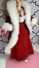 Barbie Outfit Only Clothes Lot Holiday Christmas Dress Jacket Shoes & Purse
