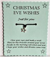 Christmas Eve Wish Bracelet - Boys Christmas Eve Box Filler Gift