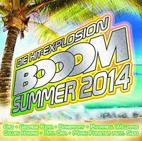 BOOOM-SUMMER 2014 2 CD NEU - CRO, MARK FORSTER, SIDO, GEORGE FORSTER, PSIRICO