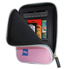 "Pink Neoprene Case Cover for Amazon Kindle Fire Wi-Fi 7"" Pouch Tablet Sleeve"