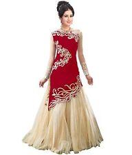 Indian Designer Ethnic Lehenga Long Anarkali Dress Wedding Bollywood Party wear