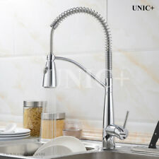 Kitchen Faucet Pull-down Style Spring Sink Mixer Tap Faucet Chrome, KPF004PC