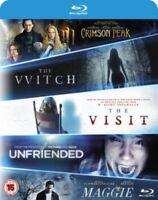 La Bruja / Carmesí Pico / Maggie / la Visita / Unfriended Blu-Ray Nuevo Blu-Ray