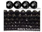 BLACK ONYX Faceted Beads Round Sizes 4mm 6mm 8mm 12mm 14mm 16mm BEADS & TOOLS