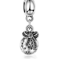 Charms Fashion Beads Wholesale Silver Fit 925 Sterling Bracelet Necklace