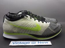 Men's Nike Flyknit Racer Sail Volt Black 2013 sz 12