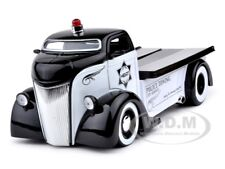1947 FORD COE POLICE TOW TRUCK 1:24 DIECAST MODEL CAR BY JADA 96284