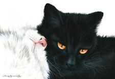 BLACK Cat retrazione con i garmashova