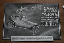 PUB 1925 automobile - car UNIC