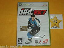 2K Sport NHL 2K7  XBOX 360 vers.ITA NUOVO_BELLISSIMO!!!