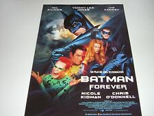 AFFICHE PROMO VIDEO CLUB--BATMAN FOREVER--KIDMAN/O'DONNELL/KILMER/CARREY