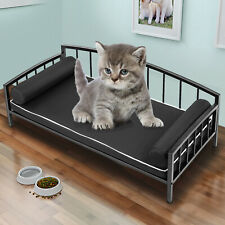 Metal Pet Bed Dog Lounge Sofa w/ 25in Thick Cushion #2 Elevated Dog Bed