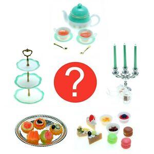 Blind Box Dollhouse Miniature Fairy Garden Tea Party Pot Cup Food 1 Random Pack