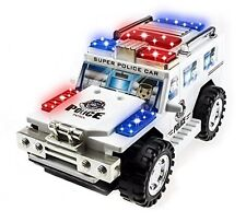Techege Toys Super Police Toy Car By Techege Toys