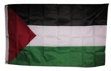 3x5 Embroidered Sewn Palestine Palestinian 300D Nylon Flag 3 clips
