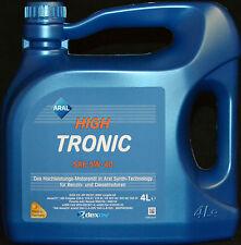 4 Liter ARAL High Tronic 5W40 Motoröl 5W-40 VW 505.01 BMW Longlife-04 MB 229.51