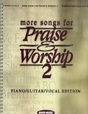 More Songs for Praise and Worship 2 SONGBOOK Spiral Bound Christian CCM Austin