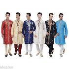 Indian Designer Kurta Sherwani for Men 2pc Suit - (Worldwide Postage)
