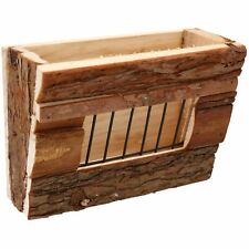 Small Animals Wooden Treat Hay Rack For Rabbits, Gunea Pigs