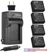 Kastar Battery Travel Charger for Leica BP-DC15 & Leica D-Lux Type 109 Camera