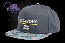 New Billabong System Twill Mens Camo Snapback  Cap Hat