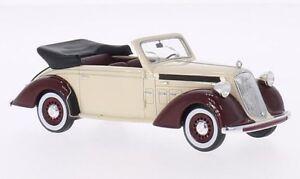 Steyr 220 Cabriolet beige / dunkelrot 1939 - 1:43 Neo