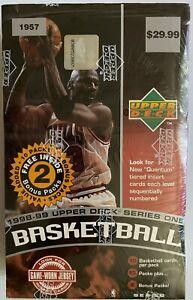 1998-99 Upper Deck Series One Basketball Sealed Box UD - Michael Jordan
