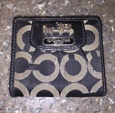 COACH MADISON OP ART SIGNATURE SMALL WALLET