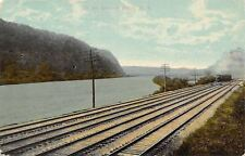 Mohawk Valley~New York Central Lines~Train~Railroad Tracks Along River~1908